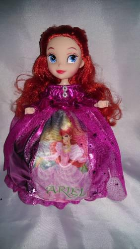 Muñeca De Sirenita Ariel Princesas Frozen