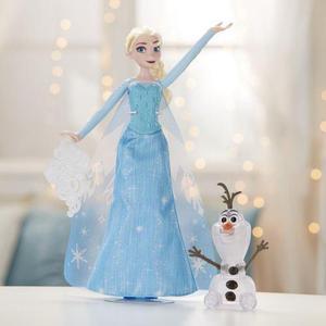 Muñeca Elsa Luces De Invierno Disney Frozen