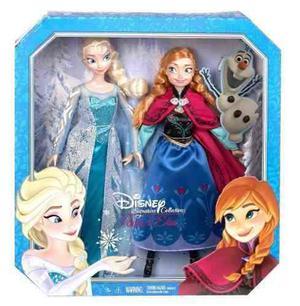 Muñecas Ana Y Elsa Coleccion Clasicos Frozen Envio Gratis