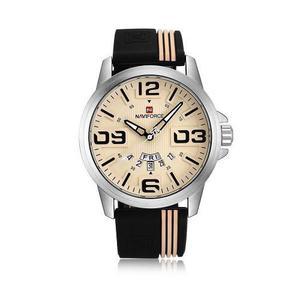 Naviforce Moda Hombres Reloj 3atm Cuarzo Resistente Al Agua