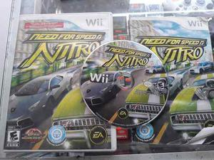Need For Speed Nitro Para Wii (Envio Gratis)