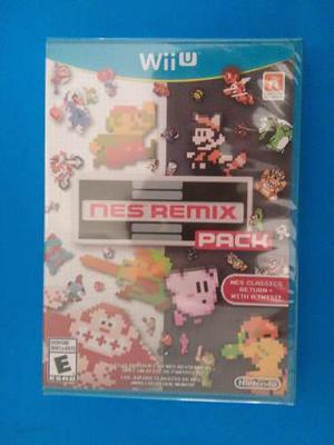 Nes Remix Pack Wii U Nuevo Sellado Nintendo Trqs Wiiu