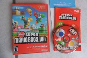 New Super Mario Bros Completo Wii Juegazo!!! Chécalo