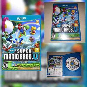 New Super Mario Bros U Wii U Envio Gratis