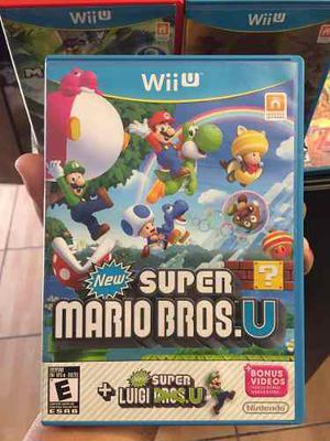 New Super Mario Bros Wii U + New Super Luigi Bros