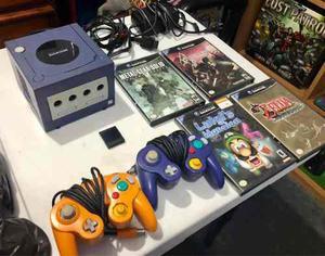 Nintendo Game Cube Más Juegos. Resident Evil Zelda Luigi