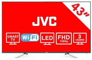 Pantalla Smart Tv 43 Pulgadas Jvc Led Full Hd Wi Fi Usb