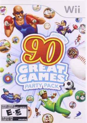 Parte De La Familia De 90 Grandes Juegos - Nintendo Wii