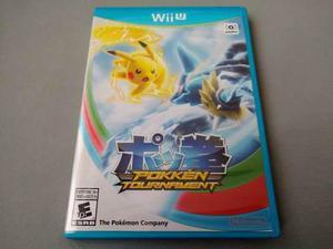 Pokemon Pokken Tournament Original Para Nintendo Wii U