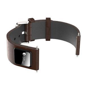 Pulsera Reloj Cuero Real Smart Watch Android Ios Compatible