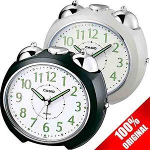 Reloj Casio Tq369 Despertador Campana Luz Led Neobrite