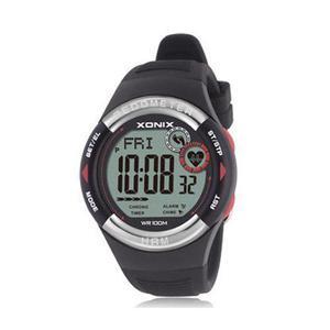 Reloj De Pulsera Digital Podómetro Calorie Prueba Pulso Sin