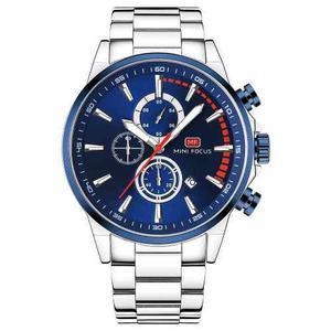 Reloj Deporte Mini Focus Mf0085g-02 Moda Acero Hombres Depor