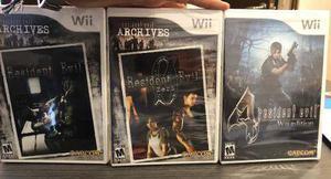 Resident Evil Archives Para Wii - Nuevos Y Sellados