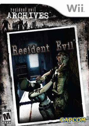 Resident Evil Archives (nuevo Y Sellado) - Nintendo Wii