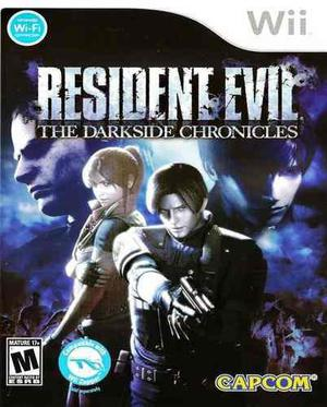 Resident Evil Darkside Chronicles Wii Nuevo Y Sellado Juego