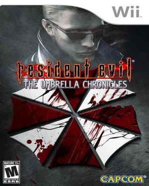 Resident Evil Umbrella Chronicles Wii Nuevo Y Sellado Juego