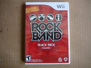 Rock Band Track Pack Vol 2 Nuevo Para Nintendo Wii Env Grats
