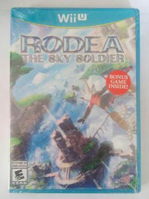 Rodea The Sky Soldier Wii U Nuevo Y Sellado Nintendo Trqs
