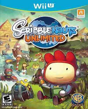 Scribblenauts Unlimited Nintendo Wii U Nuevo Y Sellado Juego