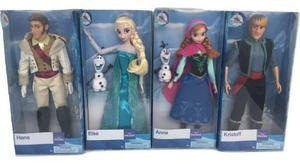 Set 4 Muñecas Princesas Frozen 30 Cm Original Disney Store