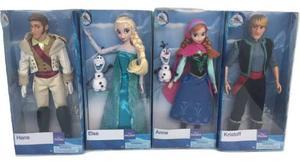 Set 4 Personajes De Frozen 30 Cm Original Disney Store