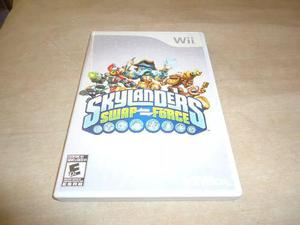 Skylanders Swap Force Juego Disco Nintendo Wii +++