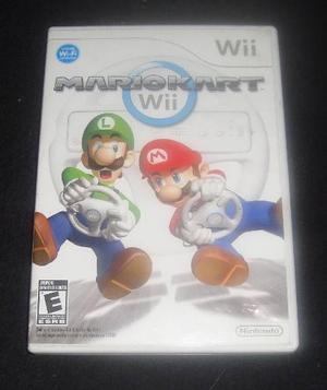 Solo Caja De Mario Kart Para Wii