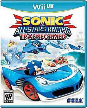 Sonic All Stars Racing Transformed Wii U Nuevo Sellado Juego
