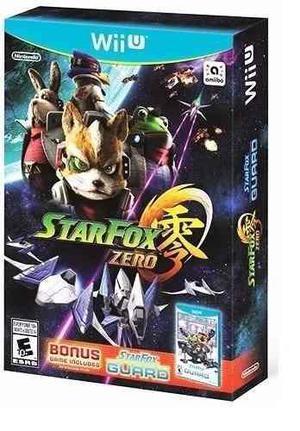 Star Fox Zero + Star Fox Guard Original 100% Nuevo Y Sellado