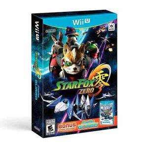 Star Fox Zero + Star Fox Guard Para Nintendo Wii U - Nuevo