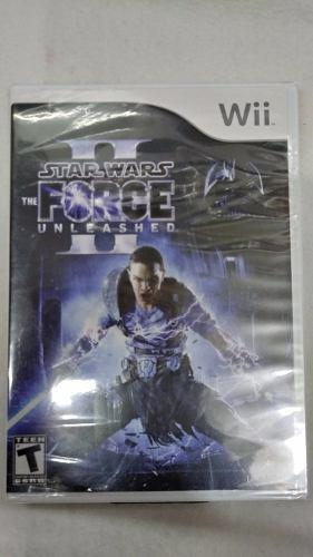 Star Wars Force Unleashed 2 Nintendo Wii Msi Envio Gratis!!!