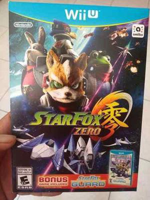 Starfox Zero Para Wii U Nuevo D3 Gamers