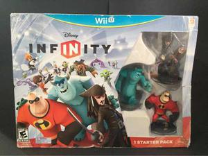 Starter Pack Disney Infinity Wii U Nuevo