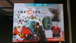 Starter Pack Disney Infinity Wii U Nuevo Sellado