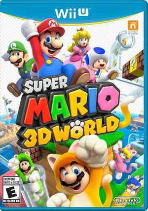 Super Mario 3d World::.. Para Nintendo Wii U