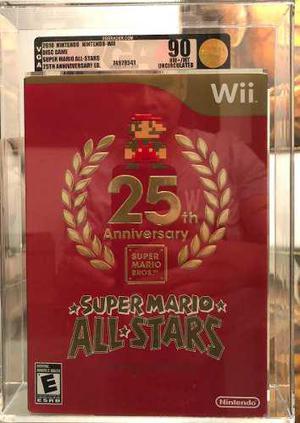 Super Mario All Stars 25th Anniversary - Wii Vga 90 Nuevo