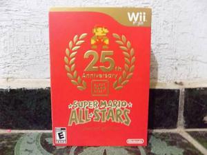 Super Mario All-stars 25 Aniversario Wii Sellado