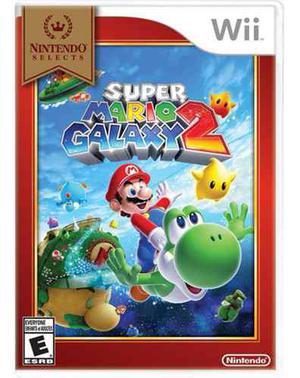 Super Mario Galaxy 2 Wii Nuevo + Mario Kart Wii Nuevo