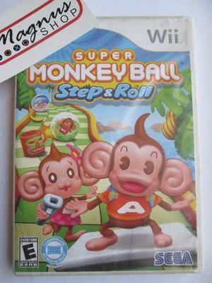 Super Monkey Ball Step & Roll Para Nintendo Wii Gran Juego
