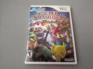 Super Smash Bros Brawl Original Para Wii Sin Manual