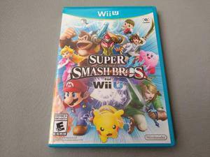 Super Smash Bros Wii U Original Para Nintendo Wii U