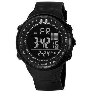 Synoke Masculino Deporte Reloj Electrónico Led Digital Muñ