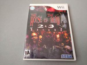 The House Of The Dead 2 Y 3 Return Original Para Wii