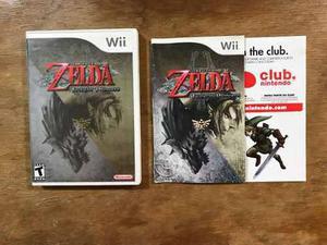 The Legend Of Zelda Twilight Princess Completo Nintendo Wii