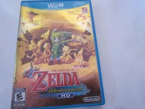 The Legend Of Zelda Wind Waker 1er. Edición Wii U Completo