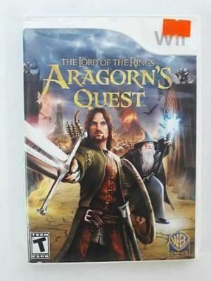 The Lord Of The Rings Aragorn Quest Wii Seminuevo En Igamers