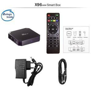 Tv Box X96 Mini 4k Smart Tv 2gb Ram 16gb Android 7