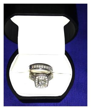 Venta (de Oportunida) anillos de matrimonio de oro de 14