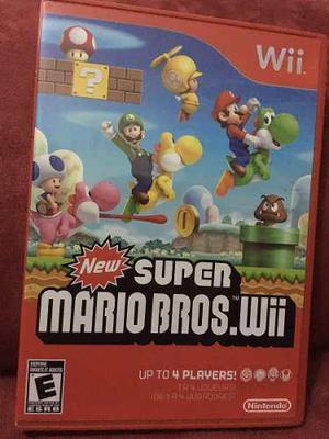 Video Juego New Súper Mario Bros. Wii